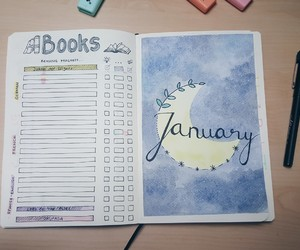 book, books, and january image