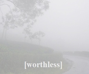 worthless and pale image