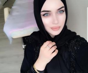 hijab, muslim, and russian image