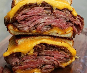 beef, burger, and cheeseburger image
