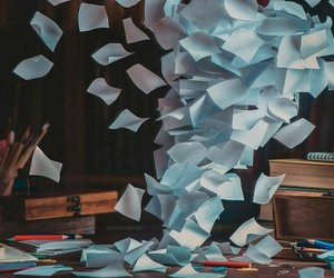 aesthetic, magic, and Paper image