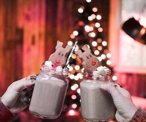brown, christmas, and Cookies image