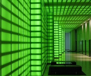 aesthetic, green, and light image