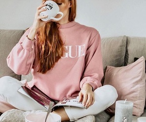 busy, pink, and vogue image