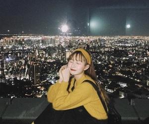 black, city, and korea image
