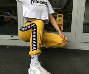 fashion, thrasher, and outfit image