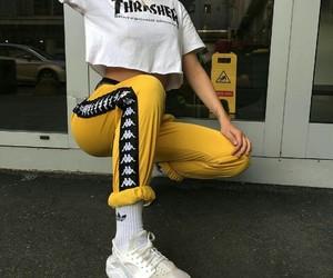 thrasher and yellow image
