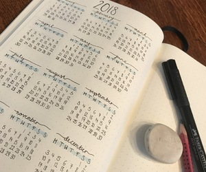 calendar, diary, and drawing image