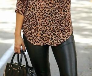 animal print, leopardo, and lindo image
