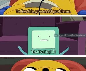 quotes, life, and adventure time image