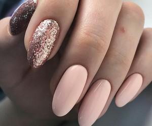 goal, mani, and nail polish image