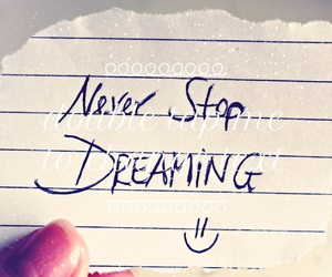 neverstopdreaming and weheartit image