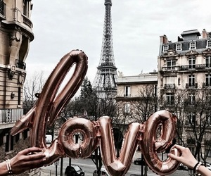 paris, love, and travel image