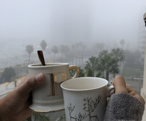 city, coffee, and coffee mugs image