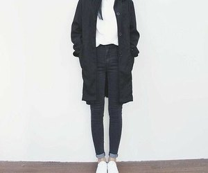 fashion, korean, and outfit image