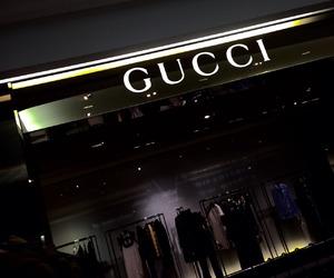 gucci, dark, and luxury image