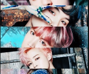 army, jin, and wings image