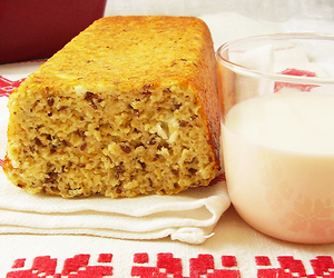 bread, oats, and cottage cheese image