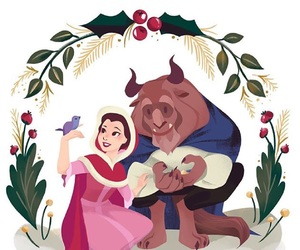 disney, beauty and the beast, and draw image