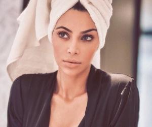 kim kardashian, beauty, and make up image