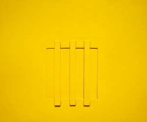 abstract photography, wall, and yellow image