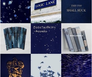 blue, space, and ravenclaw image
