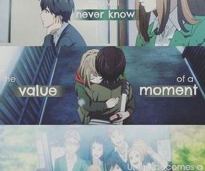 anime, cry, and orange image