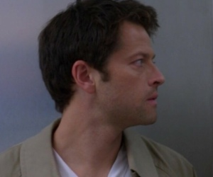 supernatural, castiel, and icon image
