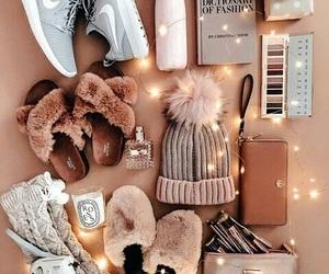 dress, fashion, and winter wear image