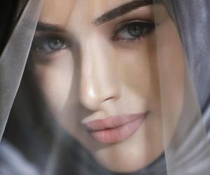 hijab, beauty, and bride image