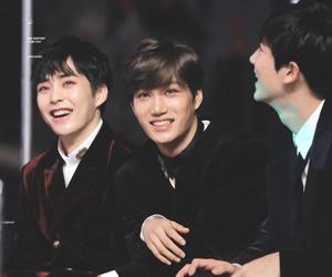 exo, kai, and xiumin image
