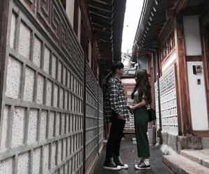 boy, girl, and ulzzang couple image