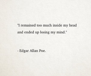 book, edgar allan poe, and mind image
