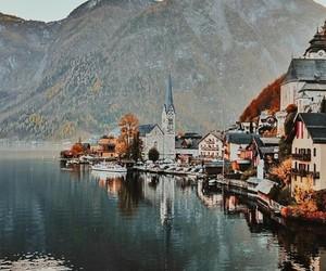 austria, beautiful, and lake image