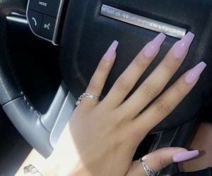 nails, car, and purple image