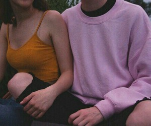 aesthetics, couple, and love image