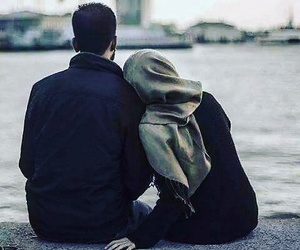 couples, love, and muslims image