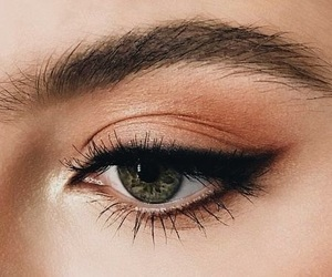 eyeliner, pretty, and cute image