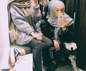 beautiful, hijab, and outfits image