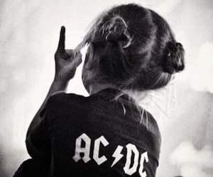 ACDC, bun, and fashion image