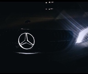 baby, mercedes, and black image