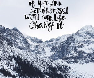 motivation, travel, and snow image