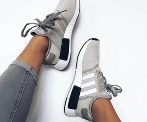 adidas, beige, and jeans image