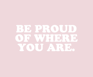 pink, quotes, and proud image