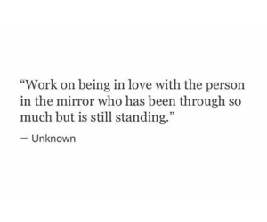 in, work, and being in love image