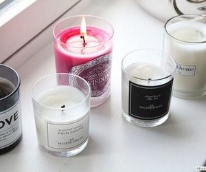 candles, white, and pretty image