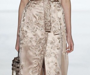 chic, dress, and runway image