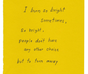 away, bright, and burn image
