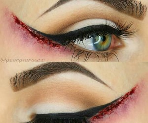 eyebrow, make-up, and art+ image