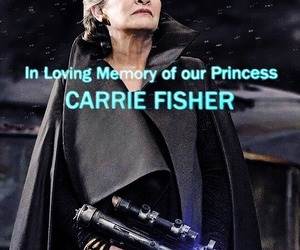 actress, carrie fisher, and pretty image